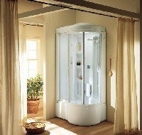 установка душевой кабины в ванной